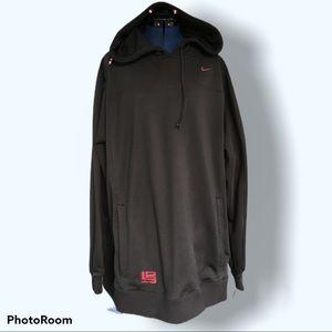 Nike Lebron   Hooded  Hoodie Sweatshirt